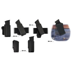 Universal Swiveling Holder for Double Stack Magazine 9mm
