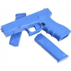 Training Gun W/ Removable Mags - Glock Blue