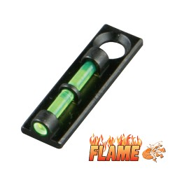 Hiviz Shotgun Fiber Optic Flame Sight Flame Sight, Green