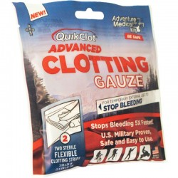 "Adventure Medical Kits Quikclot Gauze 3""X24"", 2 Pack"
