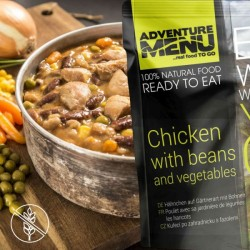 AventureMenu Chicken With Beans And Vegetables