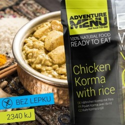 AventureMenu Chicken Korma With Rice
