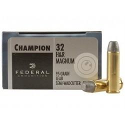 Federal Premium Revolver Ammo, .32 H&R Magnum, 85-gr.