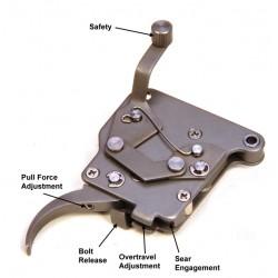 Jewell Trigger Rem 700 R HVR 700 Trigger