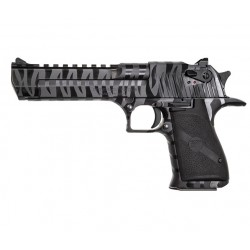 "Magnum Research Desert Eagle Tiger Stripe 6"" Black .50 AE"