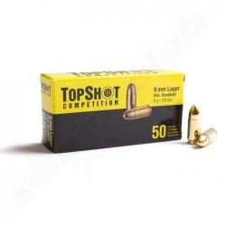 Topshot 9mm Luger FMJ 124gr 50uni