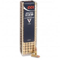 CCI Mini Mag HS .22LR 40gr Copper Plated