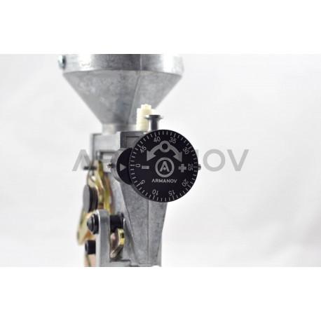 Armanov Clickable Dillon Precision Powder Thrower Adjust Knob Assembly