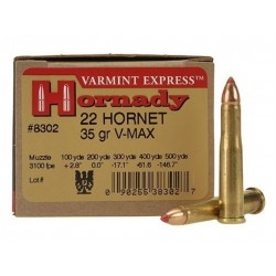 Hornady Cal. 22 WMR V-MAX 30gr 50uni