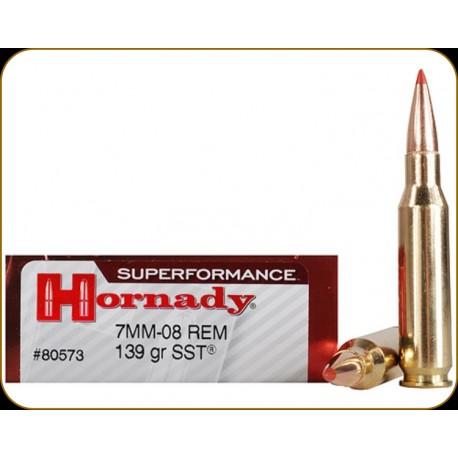Hornady Cal. 7mm-08 Rem. SST 139gr 20uni