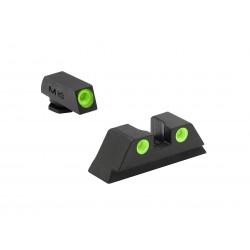 Meprolight TRU DOT® NIGHT SIGHT FIXED SET - Glock 21,29,30,36,40,41,20