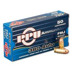 Prvi Partizan .380 ACP Ammunition 50 Rounds, FMJ, 94gr