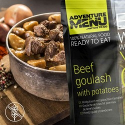 AventureMenu Beef Goulash With Boiled Potatoes