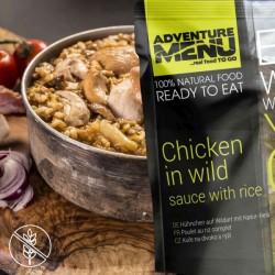 AventureMenu Chicken In Wild Sauce And Rice