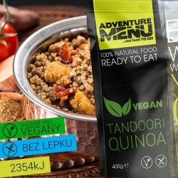 AventureMenu Tandoori Quinoa Vegan