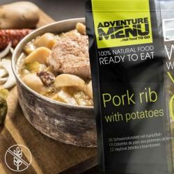 AventureMenu Pork Rib With Boiled Potatoes