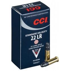 CCI Standard .22LR 40gr